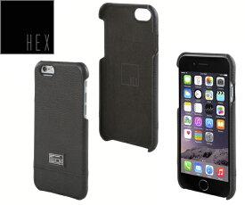 ヘックス HEX FOCUS CASE For iPhone6 HX1752 カラー BLACK LETHERアイフォンケース