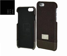 ヘックス HEX FOCUS CASE For iPhone6 HX1752 カラー BROWN WOVEN LETHERアイフォンケース
