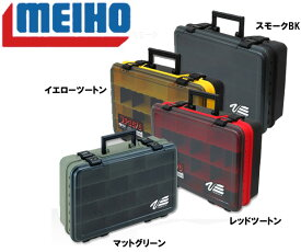 MEIHO ( メイホウ ) VS-3070 タックルボックス耐衝撃性コーポリマー使用 40バッカンサイズ