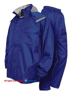 TOHKEMI(트오케미)  #7705 뉴바류레인스트(상하 세트) 투습 방수 레인코트・레인웨아
