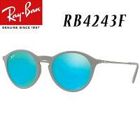 Ray-Ban(レイバン)RB4243F-49-6262B4レディースサングラス丸