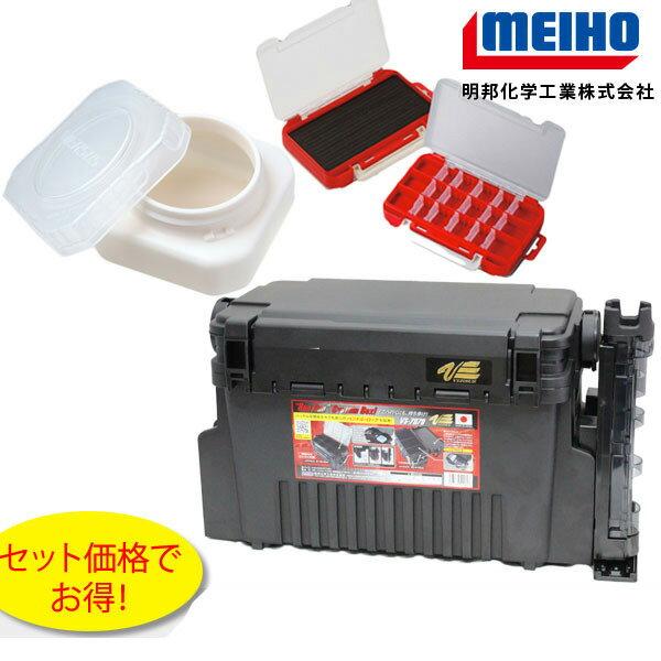 MEIHO(メイホウ) VS-7070 ライトゲームセットBアジング、メバリング当店オリジナルタックルボックスセット