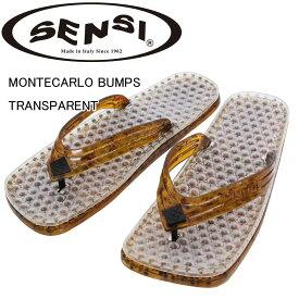 SENSI ( センシ ) MONTECARLO BUMPS TRANSPARENT COLLECTION サンダル【 あす楽 】MADE IN ITALYの高性能サンダル!!