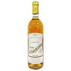 [1996] シャトー・ラトゥール・ブランシュ 750ml ソーテルヌ Chateau La Tour Blanche / Sauternes [Ko-8]