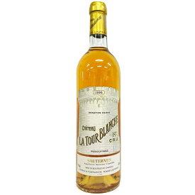 [1996] シャトー・ラトゥール・ブランシュ 750ml ソーテルヌ Chateau La Tour Blanche / Sauternes [Ko-5]
