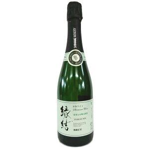 島根わいん 縁結 スパークリング デラウェア ブリュット 750ml / 島根ワイナリー [島根] Enmusubi Sparkling Delaware Brut / Shimane winery [Na9-1]