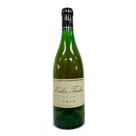 [1979] コトー・デュ・レイヨン 750ml ムーラン・トゥーシェ Coteaux du Layon / Moulin Touchais [O-3]