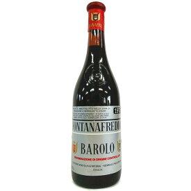 [1974] バローロ 750ml フォンタナフレッダ Barolo / Fontanafredda [T-0]
