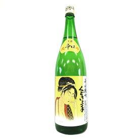 くどき上手 辛口純吟 生詰 [1800ml] [亀の井酒造] [山形]