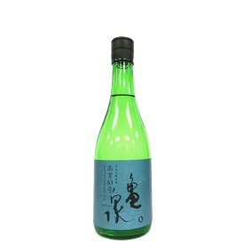 亀泉 純米吟醸原酒 高育63号 生 [720ml] [亀泉酒造] [高知]≪ラストワン≫