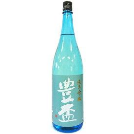 豊盃 純米吟醸 夏ブルー [1800ml] [三浦酒造] [青森]