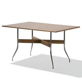 【ポイント5倍!】HermanMiller(ハーマンミラー) 「Nelson Swag Leg Group Dining Table」 長方型/ウォールナットトップ