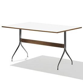 【ポイント5倍!】HermanMiller(ハーマンミラー) 「Nelson Swag Leg Group Work Table」 ホワイトラミネートトップ