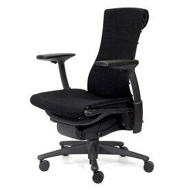 【ポイント5倍!】HermanMiller(ハーマンミラー) 「Embody Chair (エンボディチェア)」 ベース・フレーム:グラファイト/テキスタイル:ブラック