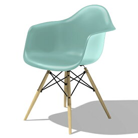 【ポイント5倍!】HermanMiller(ハーマンミラー) 「Eames Shell Chair / Armchair(DAW)」アクアスカイ