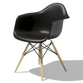 【ポイント5倍!】HermanMiller(ハーマンミラー) 「Eames Shell Chair / Armchair(DAW)」ブラック
