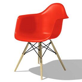 【ポイント5倍!】HermanMiller(ハーマンミラー) 「Eames Shell Chair / Armchair(DAW)」レッド