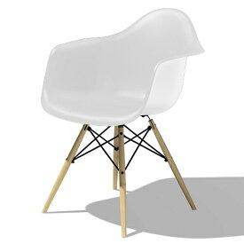 【ポイント5倍!】HermanMiller(ハーマンミラー) 「Eames Shell Chair / Armchair(DAW)」ホワイト