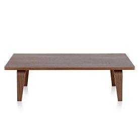【ポイント5倍!】HermanMiller(ハーマンミラー) 「Eames Rectangular Coffee Table」W1220/ウォールナット