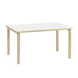 【ポイント10倍!】artek(アルテック)ダイニングテーブル 82A ホワイトラミネート【取寄品】