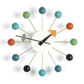 【ポイント10倍!】Vitra(ヴィトラ)「Ball Clock (ボール クロック)」マルチカラー