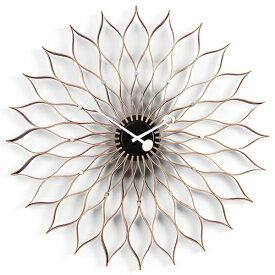 【ポイント10倍!】Vitra(ヴィトラ)「Sunflower Clock(サンフラワー クロック)」バーチ