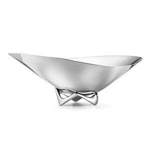 【ポイント3倍!】Georg Jensen(ジョージ ジェンセン)テーブルウェアHK(エイチケー)ウェーブボウル 420mm