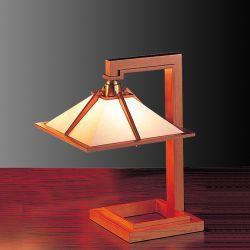 |【Wエントリでポイント最大37倍!超ポイントバック祭17(月)9:59まで】Frank Lloyd Wright(フランクロイドライト) テーブルスタンド照明TALIESIN 1 MINI (タリアセン1 ミニ) チェリー