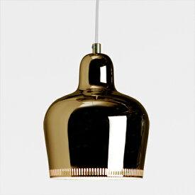 【ポイント10倍!】【コードカット無料】artek(アルテック)ペンダント照明 A330S GOLDEN BELL(ゴールデンベル)(1937) ブラス