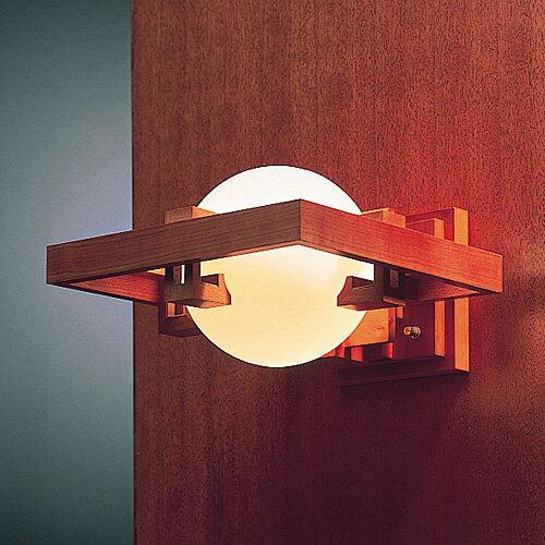 【スマホエントリーでポイント最大19倍!3/17 10:00〜】フランク・ロイド・ライト ( Frank Lloyd Wright ) ブラケットライト「 ロビー1 」 チェリー【要電気工事】 【送料無料】