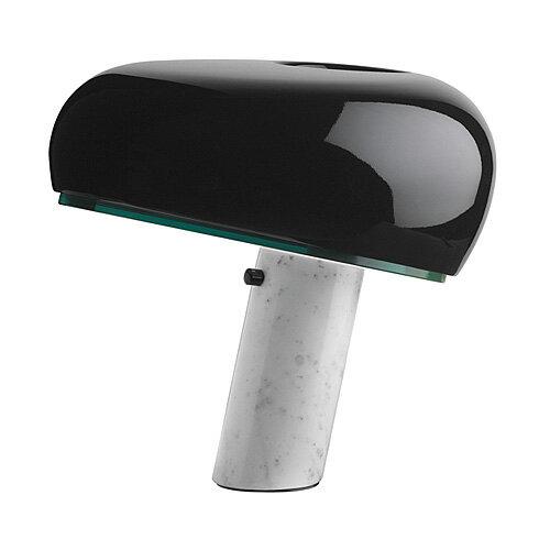 【ポイント10倍!】【入荷未定】FLOS (フロス) テーブルスタンド照明「SNOOPY(スヌーピー)」ブラック