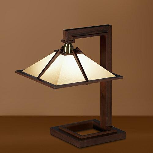 |【Wエントリでポイント最大37倍!超ポイントバック祭17(月)9:59まで】Frank Lloyd Wright(フランクロイドライト) テーブルスタンド照明TALIESIN 1 MINI (タリアセン1 ミニ) ウォルナット