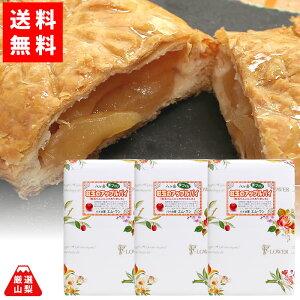 【送料無料】 紅玉のアップルパイ 3個セット 八ヶ岳 国産りんご 手づくりパイ パイの家 エム・ワン