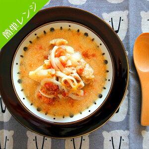 T-meal 徳島のブランド鶏肉 阿波尾鶏を使用した 鶏のトマトクリーム煮 2人前