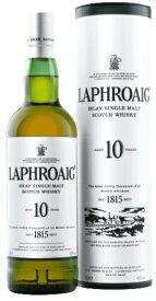 ラフロイグ 10年 700ml 40% 並行品 筒入り20191201