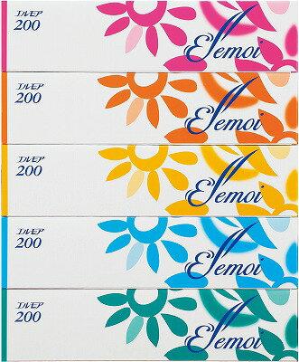 エルモアティシュ 200組 5箱×12パック