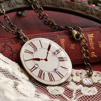 1,242 are sold out! The ◆ clock pendant that the motif of an antique clock is like Alice in Wonderland