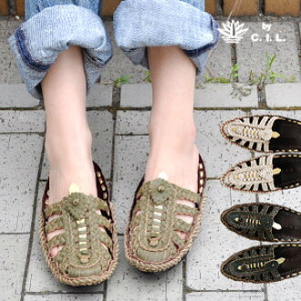 The atmosphere that is ethnic by a design of mesh knit carefully is plentiful! Leather slip-ons ◆ C.I.L. of CIL full of the craft & handmade feelings which taste adds to so as to wear it because it is real leather: Ethnic mesh sandals