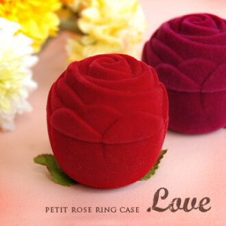 3,124 Pieces sold out! Our popular long-selling carrying case! Romantic bouquet of roses from? General case that produces the best ring gift! Interior also perfect to present a great tasty ring storage box ◆ ring of Roses Flower case