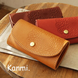 Concept wears out of taste by using a soft leather, kuttari ナチュラルレザーキー holder. Little birds are hidden broke flower type! Large keys and car also can be stored / floral / ladies ◆ Cammi kanmi.( ) コトリレー ski case