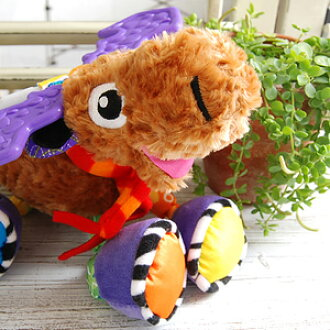 Let's play with the deer of the big horn! I sound a sound and touch it, and the mascot which affects Cami Cami comes up than Lamaze! Baby toy ◆ Lamaze which is most suitable for an attendant and a baby gift of the outing: It is moo a timer mousse