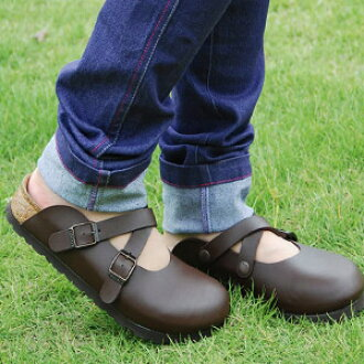 ● ● amazing comfort! Bilkey Birkenstock's secret was considered for foot orthotics! Ease of use ballistic fashionable harnesses and cleaning easy own faux leather material with ◎ ◆ Birki ' picture of Dorian s:DORIAN [クロスストラップスリッポン]