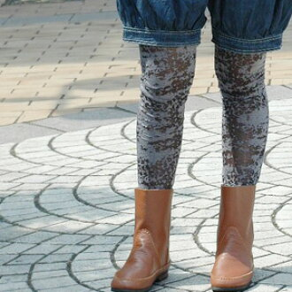 The next of plain fabric spats plays for a feel of texture! Individuality group pattern leggings of such a watermark are transformation ◆ air reamer bulldog leggings in the cool mannish look that is higher-grade classic coordinates