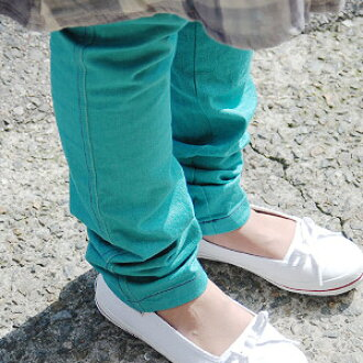 Seen from anywhere but invisible Cara pants pocket denims! Boasting excellent stretching and stitching ♪ trick picture pocket with オリジナルスキニーデニムスパッツ and レギパン ◆ Zootie: ダブルステッチカラーデニムレギンス ' 09