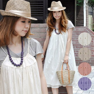 After all the summer is this! It is dress / frill /A line camisole dress / lei yard camisole gathers dress / no sleeve dress / India cotton 100% / natural cute / cotton gauze ◆ air Lee cotton camisole dress softly ナチュカワ charming a girl cutely