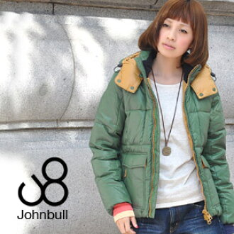 Using 40 denier nylon two-tone high quality down jumpers: a functional and fashionable sense of my groomsmen authentic winter outerwear/ladies / women ◆ Johnbull ( jumble ): two-tone down jacket [AH690]