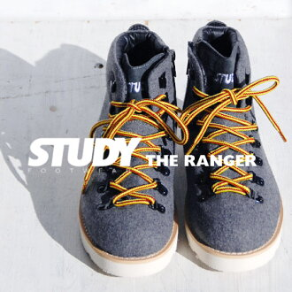 "NEW model trekking shoes of ""STUDY"" made of felt materials. Is with the & side zip which is lighter than an appearance; putting on and taking off easily ◎ mountain climbing shoes / higher frequency elimination / Lady's / plain fabric / snea"