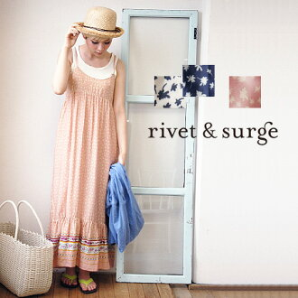 A hem is a panel handle-like camisole maxi dress to the body which silhouette ... flower that it is this adult who is born because it is a rayon material dances. / no sleeve ◆ rivet and surge (rivet and serge) available for shoulder string adjustment wit