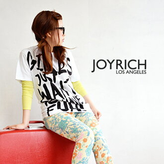 Logo T shirt printed with messages by JOYRICH seems a bold touch. Sizing a nice extra long length women's short sleeve shirt Womens Tee / elbow-length /JOY-U1318TE ◆ JOY RICH ( Mickey Mouse No1 ) :Girl Just Want To Have Fun Tee