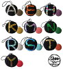 被用棉布线编织的手机吊带!用光亮装饰片画的受欢迎的首字母设计♪配饰手机女士◆cheer(快活):光亮装饰片拉丁字母棉布编织物球吊带